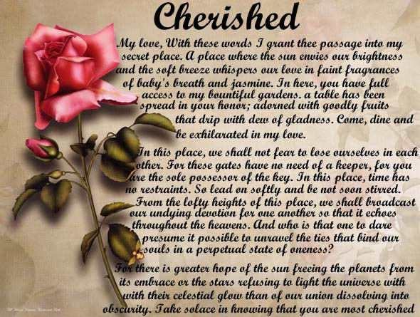 Wedding Poems Personalized Love Poems